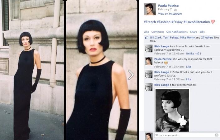Paula Patrice Louise Brooks Style