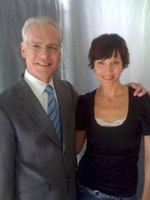 Paula Patrice Model With Tim Gunn Project Runway