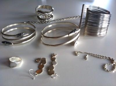 Paula Patrice's silver jewelry