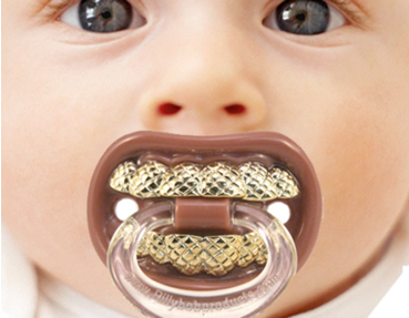 Baby Pacifier with Grill