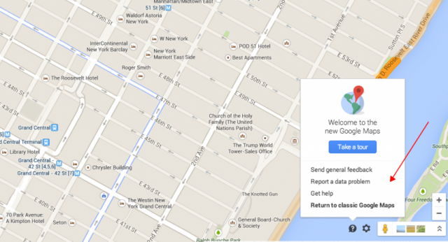 Google Map Settings - Tip