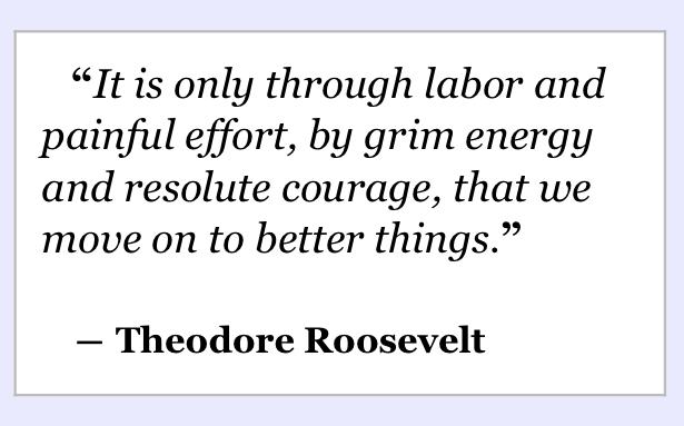 Quote Theodore Roosevelt