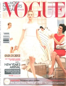 Paula Patrice Model Vogue Cover