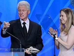 clintons at glaad
