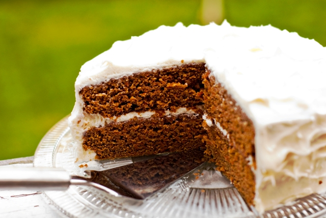 gluten free nut free carrot cake recipe