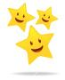 gold stars triple